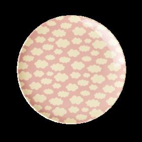 Wolke rosa