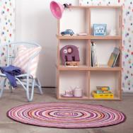 Teppich Sebra lila/pink