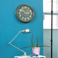 Uhr moosgrün
