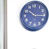 Karlsson Uhr blau