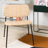 Soft Edge Lounge Stuhl