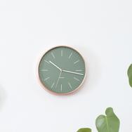 Uhr Kupfer grün